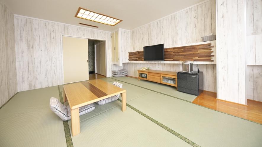 【和室】15畳★マウンテンビュー★広々とした空間で楽しい旅のひと時を♪