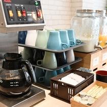 【朝食ブッフェ】お飲み物も多数ご用意しております♪