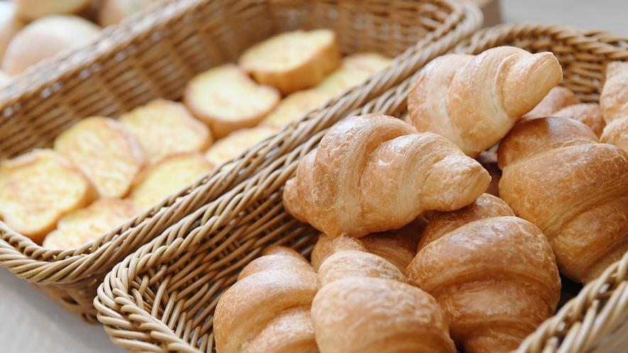 【朝食ブッフェ】おいしいパンをご用意しております☆