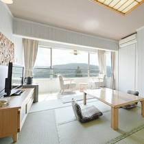【和室】8~10畳★マウンテンビュー★清潔感を大切にしております。