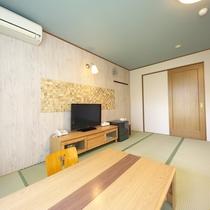 【和室】8~10畳(眺望を気にしない方向け)デザイン性の高い和室。カップルの方にもおすすめです!