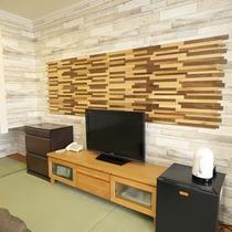 【和室】15畳★マウンテンビュー★デザイン性の高い和室です。