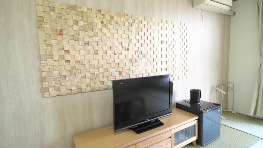【和室】8~10畳(眺望を気にしない方向け)デザイン性の高い和室。
