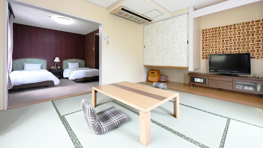 【和洋室】楽しい旅行。その素敵な思い出の1ページに。