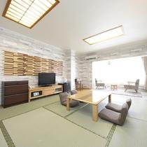 【和室】15畳★マウンテンビュー★5名様まで宿泊できますのでグループでの利用も可能です♪