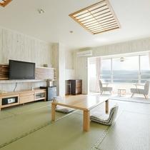 【和室】15畳★マウンテンビュー★日差しの心地よい空間です♪