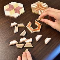 【寄木細工キット付き】箱根の伝統工芸品を堪能♪箱根名物の寄木細工を楽しもう♪【朝夕付】