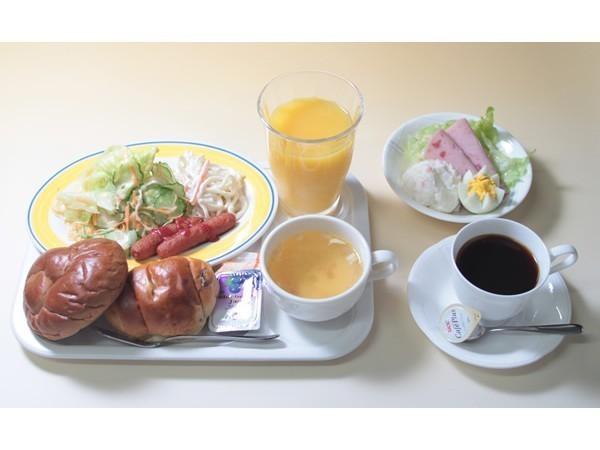 洋朝食バイキングの一例