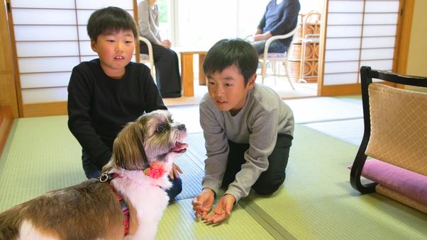<小型ワンちゃんOK>■別館 和室■〜愛犬と過ごす〜