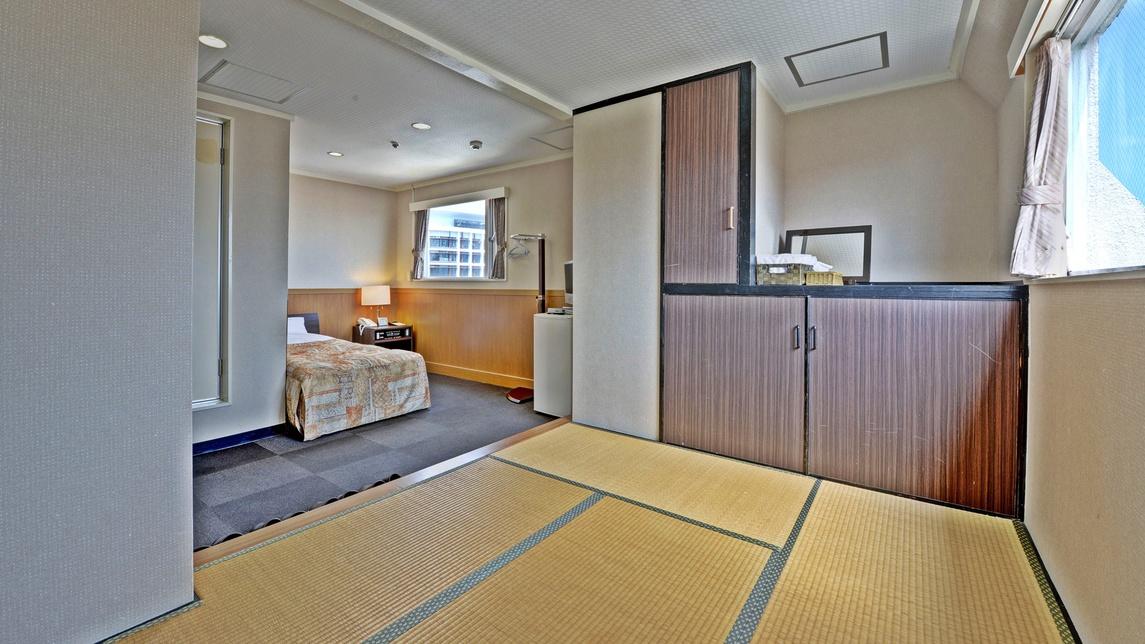*【客室一例/和洋室】お子様連れにも人気の客室です。