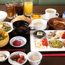 【朝食盛り付け例】お好きなものをお好きなだけお召し上がりください!