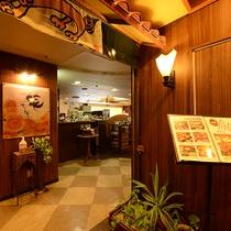 *館内レストラン/朝食、ランチ~夕食もお召し上がりいただけます。