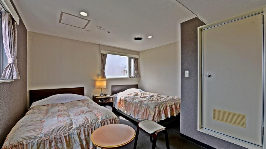 *【客室一例/スタンダードツイン】光インターネット無料!ユニットバス・トイレ付です。