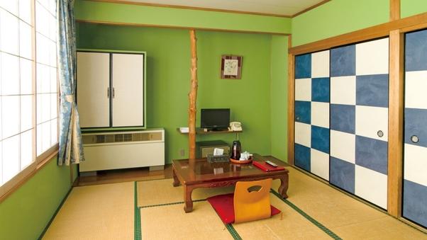 和室8畳【バストイレ無し】■喫煙■