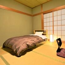★新たに和室12畳にベッドを設置しました★