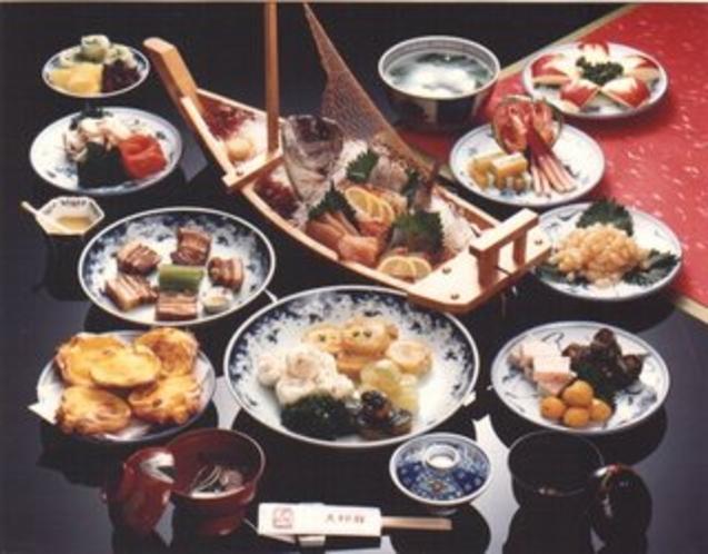 しっぽく料理(例)