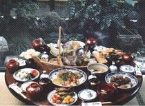 長崎卓袱料理(例)