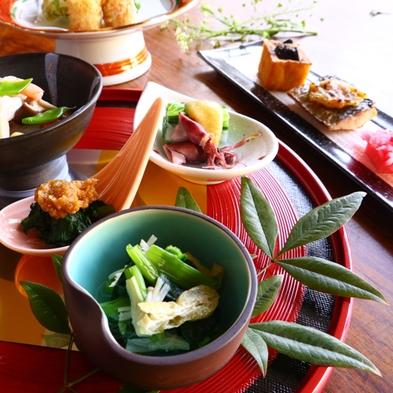【巡るたび、出会う旅。東北】会津の厳選野菜を使用した料理長こだわりのヘルシー御膳プラン