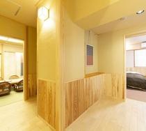 和洋室バリアフリートイレ有16畳敷(8+8畳)