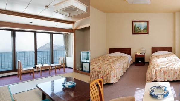 【お部屋お任せ】山側客室◇和室または洋室