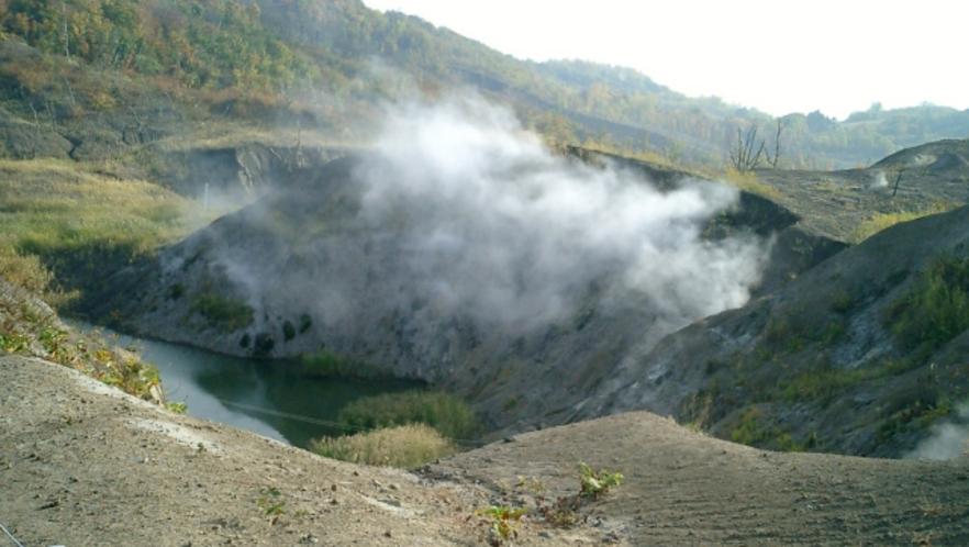 有珠山西山火口