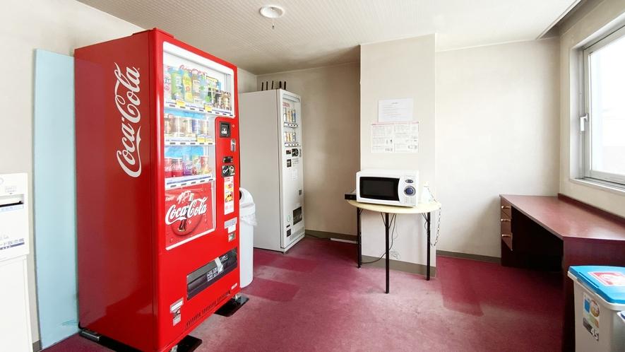 5階共用部② 自動販売機