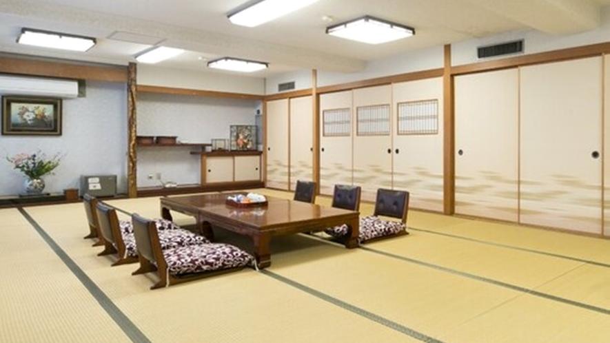 <お部屋>街側 和室大部屋/3世代家族旅行など大人数でご利用いただけます