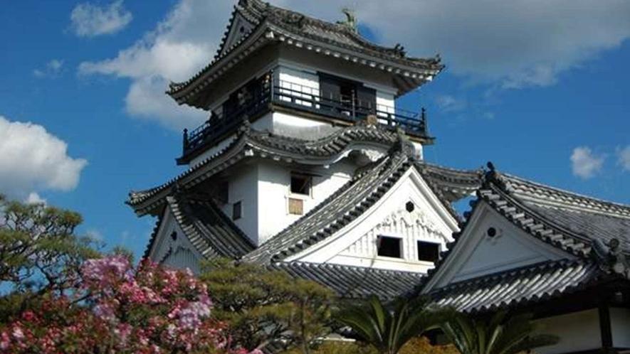 【周辺観光】高知城まで当館からお車で約6分