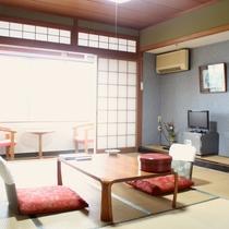 <お部屋>川側|和室(6畳~10畳)★Wi-Fi接続無料
