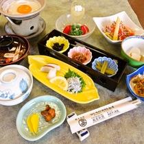 <お食事>朝食/栄養満点♪和定食※一例