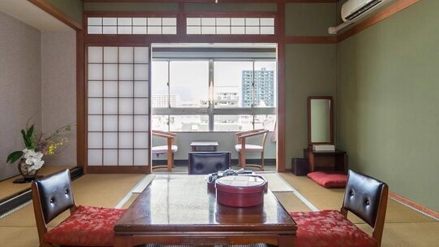 <お部屋>川側 和室(6畳~10畳)★Wi-Fi接続無料