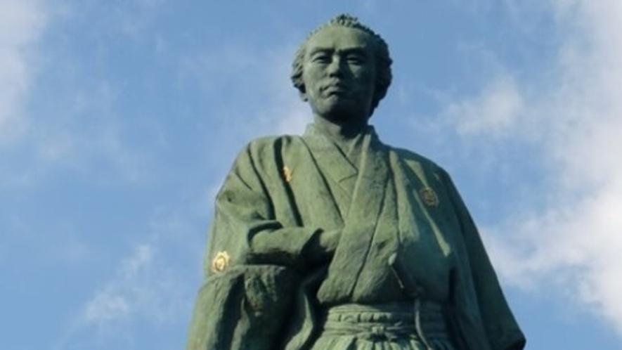 【周辺観光】坂本龍馬像(桂浜)まで当館からお車で約25分