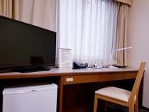 シングルルーム        【15㎡ ベッド幅120cm】