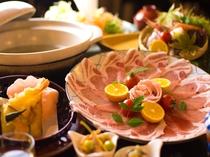 香川県産オリーブ豚のしゃぶしゃぶ
