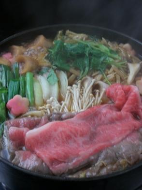 【国産牛モモ肉】すきやきプラン