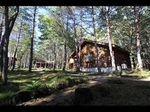 国立公園の自然に囲まれたプライベートコテージ(ログタイプ)外観5