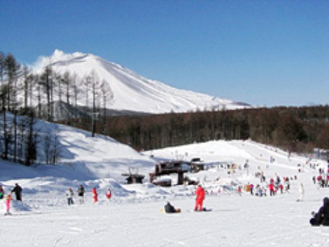スキー場(軽井沢スノーパーク)