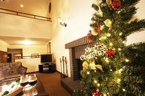 クリスマスにはツリーがあるお部屋も一部ご用意