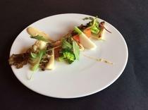 信州サーモンと秋野菜のサラダ(2015秋)