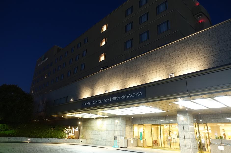 ホテルカデンツァ光が丘 夜景