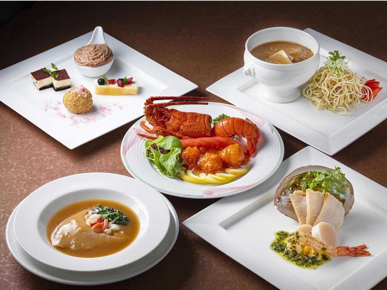 中国料理『白楽天』夕食コース
