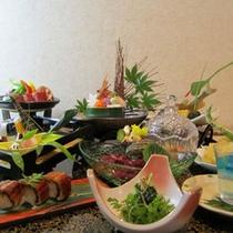 夏季は涼風御膳をお楽しみください。