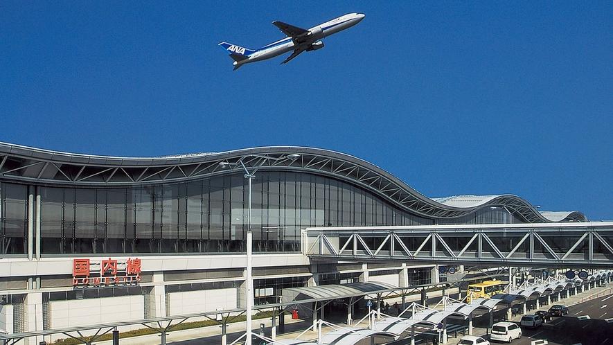 仙台空港までは車で約50~80分程。※時間帯により国道4号線が混雑します