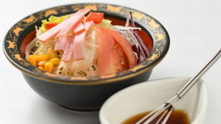 【朝食】一例 サラダ