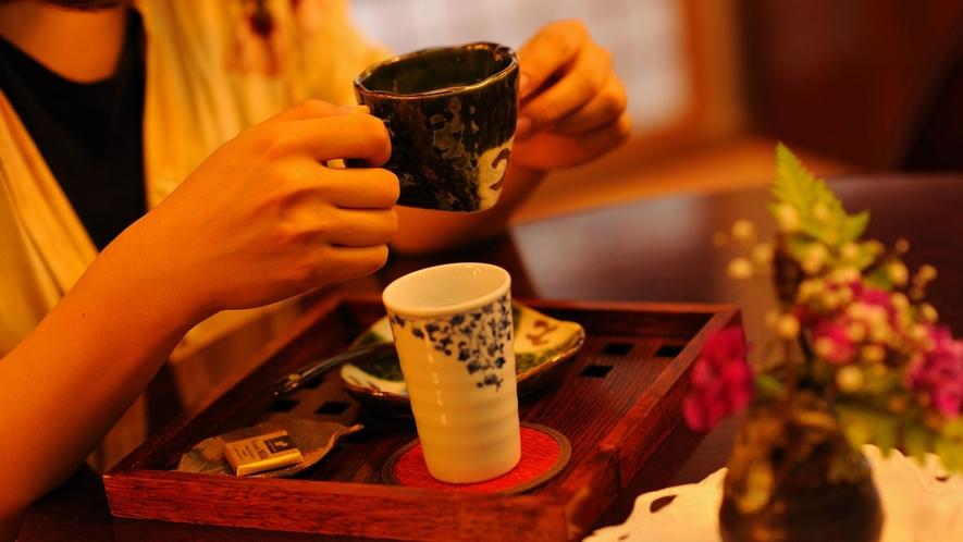 ラウンジではドリップコーヒーをご提供しております。テイクアウト始めました♪