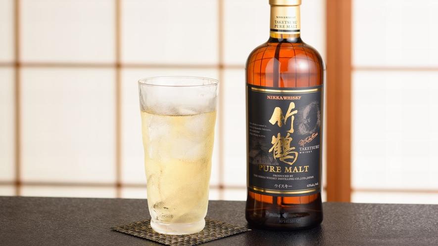 ジャパニーズウイスキーを中心に山崎・白州などもご用意。