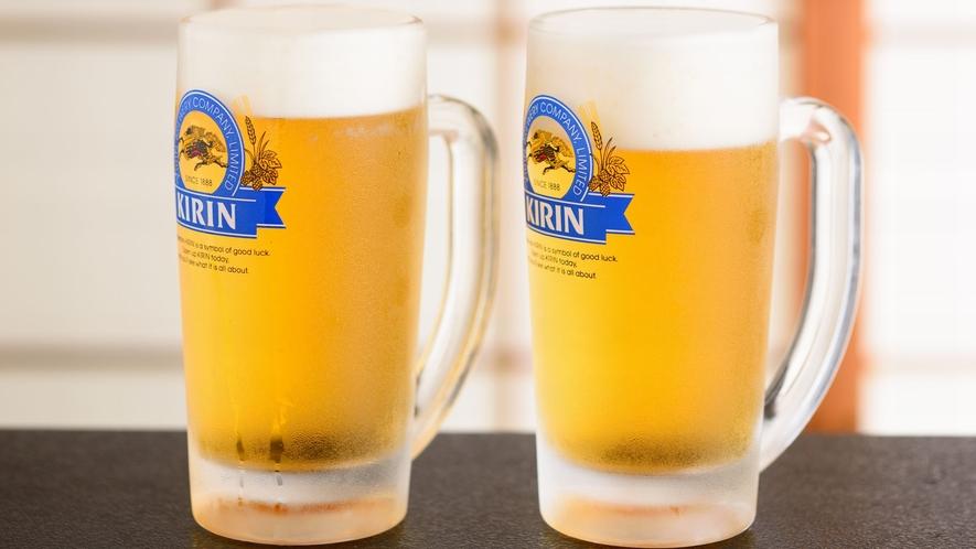 ファーストドリンクに生ビール