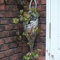 秋の玄関1