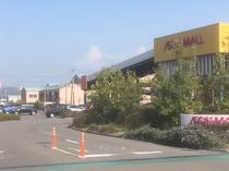当館・イオンモール新居浜 共用駐車場