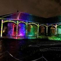 「旧グラバー住宅」で3Dプロジェクションマッピング上映!